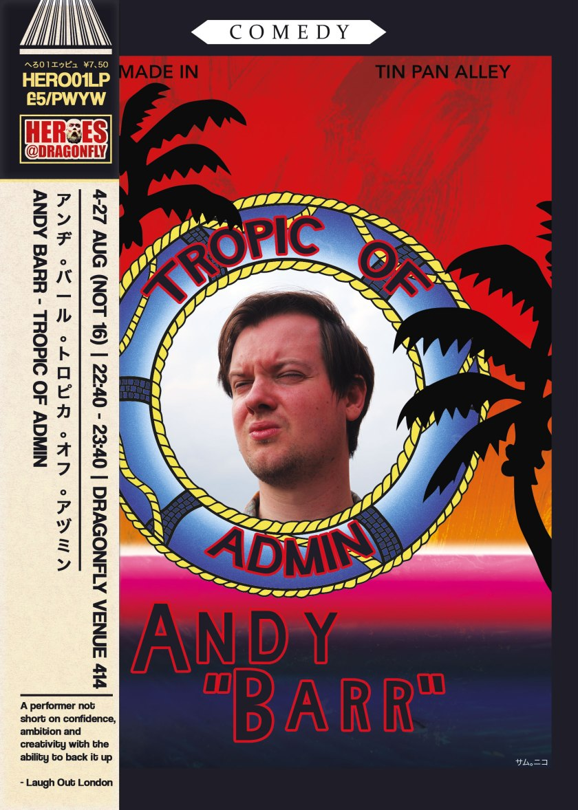 Andy Barr - Tropic Of Admin (2017)