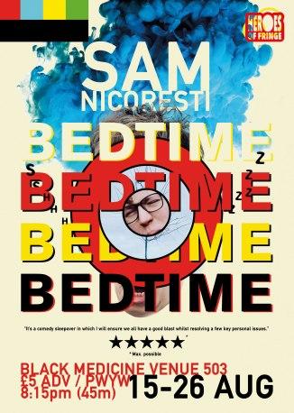 Sam Nicoresti Bedtime Edinburgh Fringe