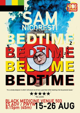 Sam Nicoresti Bedtime Edinburgh Fringe