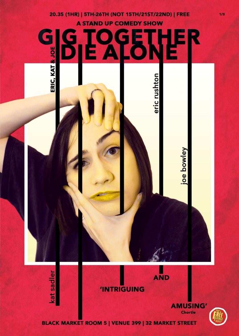 Kat Sadler Gig Together Die Alone