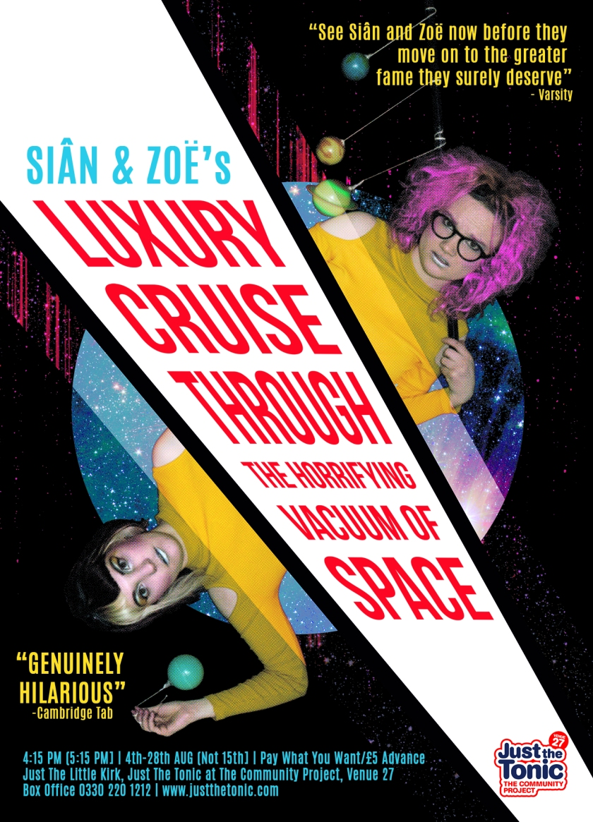 Sian and Zoe Luxury Cruise Through The Horrifying Vacuum of Space