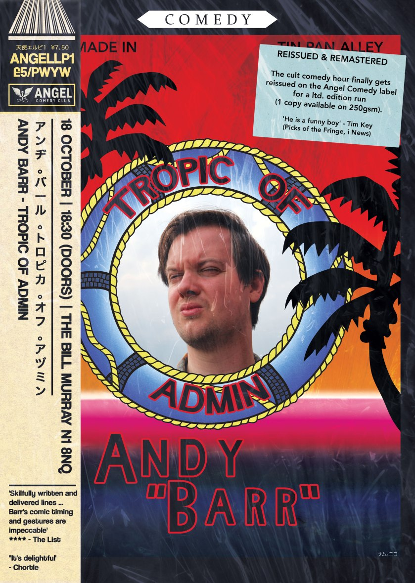 Andy Barr - Tropic Of Admin (2017) Special Edition