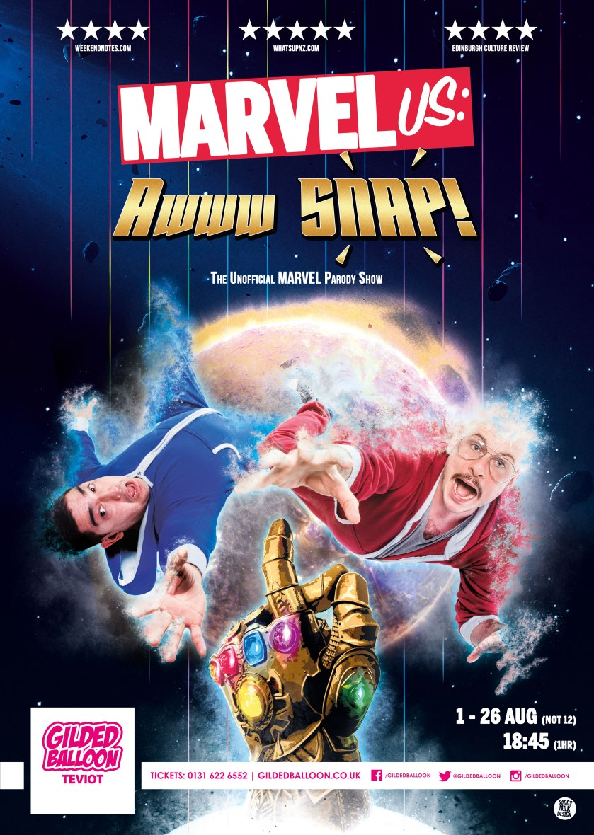 MarvelUs: Awww SNAP! A3 (2019)