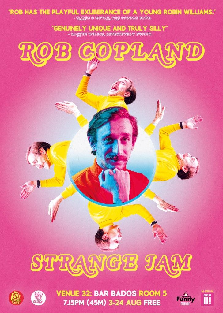 Rob Copland - Strange Jam (2019)