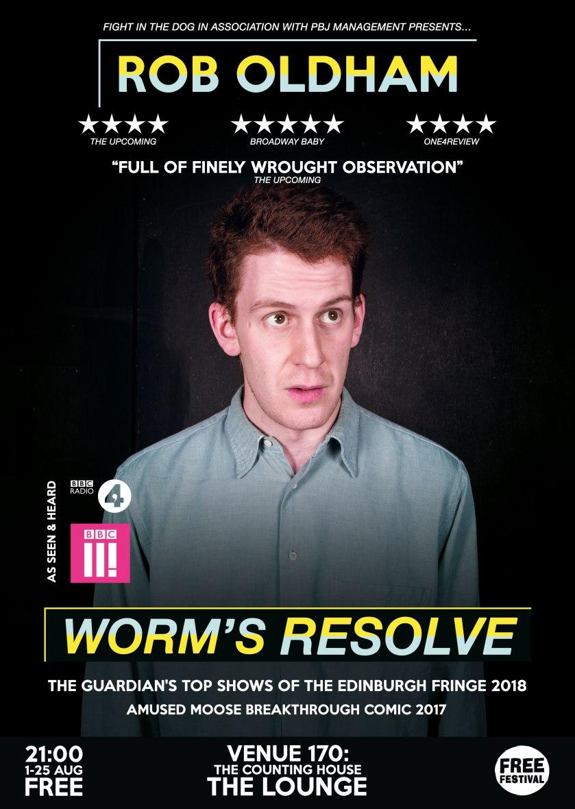Rob Oldham - Worm's Resolve (2019)